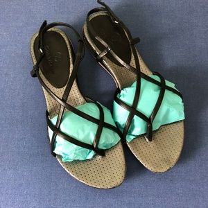 cole haan strappy sandals with nike air